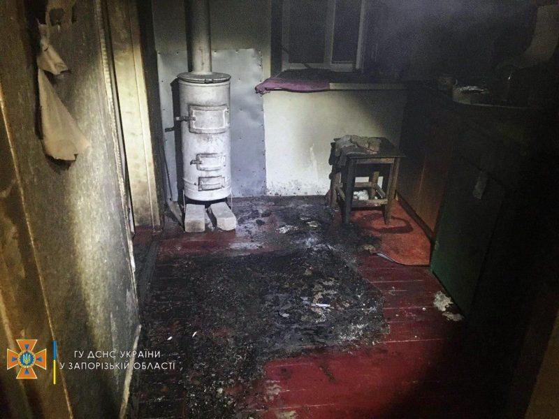 случился пожар в Орехове