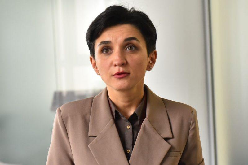 Депутат Запорожского городского совета, член депутатской фракции «Слуга народа» Регина Харченко