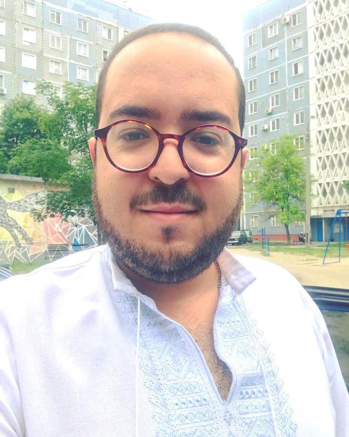 Президент Ассоциации национальных меньшинств Запорожской области Науфаль Хамдани