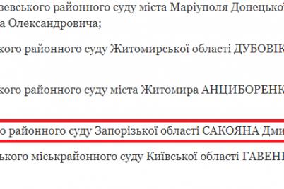 prezident-ukrainy-naznachil-novogo-sudyu-v-zaporozhskij-rajonnyj-sud.png
