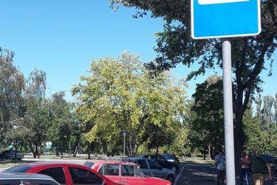 v-zaporozhskom-aeroportu-voditeli-avtomobilej-meshayut-rabote-obshhestvennogo-transporta-foto.jpg